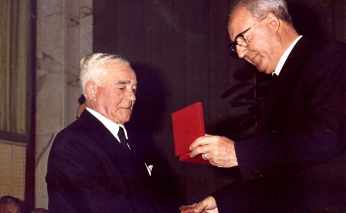 Preview ofCavaliere del Lavoro 1966 with President of Italian Republic Mr.Saragat
