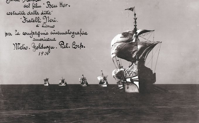 Anteprima diRoman Galley Astraca movie Ben Hur 1924
