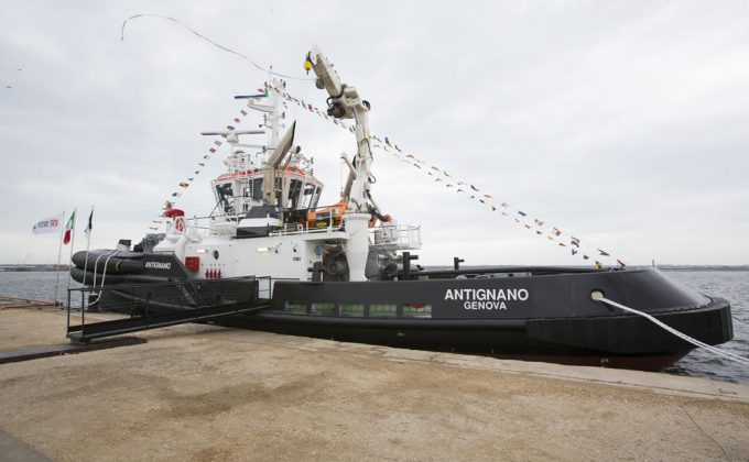 Rosetti Marino delivers to NERI the new ASD tug Antignano
